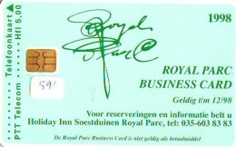 NEDERLAND CHIP TELEFOONKAART CRD 591 * Soestduinen Holiday Inn  ROYAL PARC * Telecarte A PUCE PAYS-BAS ONGEBRUIKT MINT - Privé