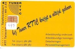 NEDERLAND CHIP TELEFOONKAART CRD 597 * RTTC  * Telecarte A PUCE PAYS-BAS ONGEBRUIKT MINT - Privé