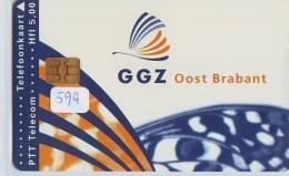 NEDERLAND CHIP TELEFOONKAART CRD 599 * GGZ OOST BRABANT  * Telecarte A PUCE PAYS-BAS ONGEBRUIKT MINT - Nederland
