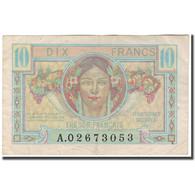 France, 10 Francs, 1947 French Treasury, 1947, TTB, Fayette:30.1, KM:M7a - Tesoro