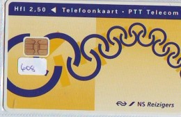 NEDERLAND CHIP TELEFOONKAART CRD 608 * NEDERLANDSE SPOORWEGEN * Telecarte A PUCE PAYS-BAS ONGEBRUIKT MINT - Nederland