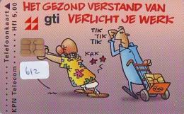 NEDERLAND CHIP TELEFOONKAART CRD 612 * GTI * Telecarte A PUCE PAYS-BAS ONGEBRUIKT MINT - Nederland