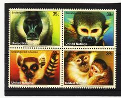 LVT155 UNO WIEN 2007 Michl 1045/48 POSTPREIS 1,56 $ ** Postfrisch SIEHE ABBILDUNG - Wien - Internationales Zentrum