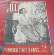 WW2 Dimanche Illustré N°101 Octobre 1942 Campagne Hiver En URSS Stalingrad,Mireille Perrey Comédie Française - Livres, BD, Revues