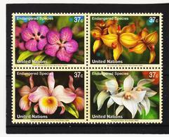 LVT156 UNO WIEN 2005 Michl 973/76 POSTPREIS 1,48 $ ** Postfrisch SIEHE ABBILDUNG - Wien - Internationales Zentrum