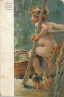 AK - Children - Kids - C.Makowsky, Fruchtesser. Frugivore. Fruit-eater - Humorvolle Karten
