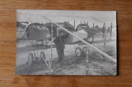 Aviation Militaire 14 18  Avion Prototype ?  Avec Soldat - Aviation