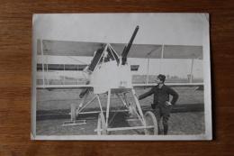 Aviation Militaire 14 18  Avion Prototype ?   Avec Canon ?? Avec Soldat - Aviation