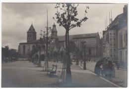 """Réelle Photo Du Début Du Siècle (+/- 1920). Bordeaux """" Eglise Ste Croix """". - Lieux"""