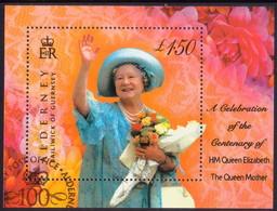 ALDERNEY 2000 SG MSA153 M/s Used Queen Mother - Alderney