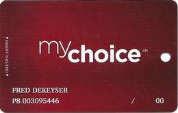 Pinnacle Entertainment Casinos USA - My Choice Slot Card - Copyright 2007 - Casino Cards
