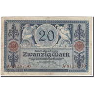 Billet, Allemagne, 20 Mark, 1915-11-04, KM:63, TB+ - [ 2] 1871-1918 : Empire Allemand