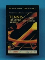 PIN'S //  ** PARIS / BERCY / TENNIS MASTER SERIES ** 11 / 2000 **   . (FFT) - Tennis