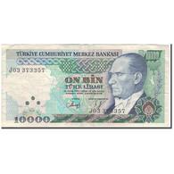 Billet, Turquie, 10,000 Lira, 1984-1997, KM:200, TTB - Turquie
