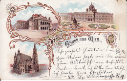 2785168Gruss Aus Wien, 1900 (Scotch Am Ecken Rechts) - Vienne