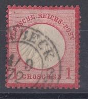 DR Minr.4 Hufeisenstempel Lübeck 4.9.72 Spalink 22-2 - Deutschland