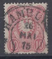 DR Minr.33 Hufeisenstempel Hamburg Spalink 17-7 - Deutschland