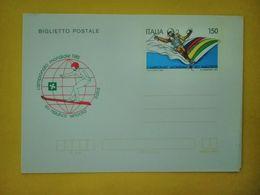 1981 ITALIA BIGLIETTO POSTALE NUOVO MNH** - MONDIALI DI SCI NAUTICO - Interi Postali