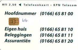 NEDERLAND CHIP TELEFOONKAART CRD 616 * RABO BANK * Telecarte A PUCE PAYS-BAS ONGEBRUIKT MINT - Nederland