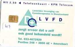 NEDERLAND CHIP TELEFOONKAART CRD 617 * LVFD * Telecarte A PUCE PAYS-BAS ONGEBRUIKT MINT - Nederland