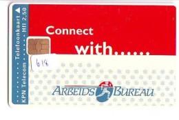 NEDERLAND CHIP TELEFOONKAART CRD 618 * Arbeidsbureau AMSTERDAM * Telecarte A PUCE PAYS-BAS ONGEBRUIKT MINT - Nederland