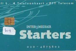 NEDERLAND CHIP TELEFOONKAART CRD 619 * STARTERS * Telecarte A PUCE PAYS-BAS ONGEBRUIKT MINT - Privé