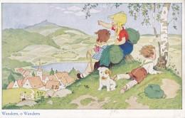 Wander O Wandern Circulée En 1932 - Fantasie
