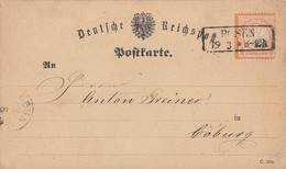 DR Karte EF Minr.18 R2 Posen 19.3. - Deutschland