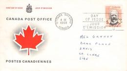 CANADA - FDC 1968 HENRI BOURASSA Sc #Mi 426 - 1961-1970