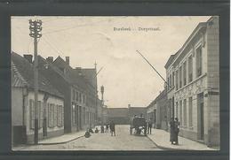 Antieke Postkaart. BORSBEEK -- Dorpstraat. - Borsbeek