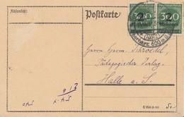 DR Karte Mef Minr.2x 310 SST Braunlage 31.10.23 Geprüft OPD Hannover - Deutschland