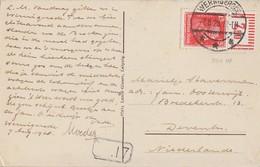 DR AK EF Minr.391 OR Walze Wernigerode 7.8.28 Gel. Nach Holland - Deutschland
