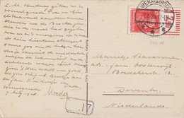 DR AK EF Minr.391 OR Walze Wernigerode 7.8.28 Gel. Nach Holland - Briefe U. Dokumente