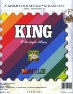 2012 - VATICANO - FOGLI KING MARINI CON EMISSIONI CONGIUNTE - USATI IN OTTIME CONDIZIONI - PRATICAMENTE NUOVI! - Album & Raccoglitori