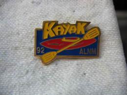 Pin's ALNM Canoë Kayak, Club De Canoë-kayak, Situé Dans La Région De Nancy, à Pont St Vincent. Dépt 54 - Canoeing, Kayak