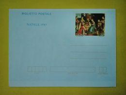 1983 ITALIA BIGLIETTO POSTALE NUOVO MNH** NATALE - Entiers Postaux