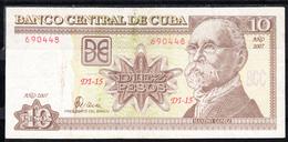 CUBA  2003 10 PESOS. MÁXIMO GÓMEZ.  MBC . PICK 116 I  .B1218 - Cuba