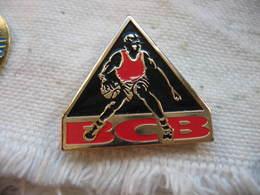 Pin's Du BCB, Basket Club De Boncourt En Suisse - Basketball