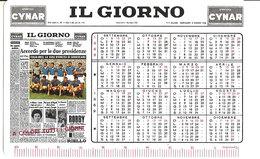 CALENDARIO IL GIORNO 1968  CON CAMPIONATO DI CALCIO SERIE A - Calendars