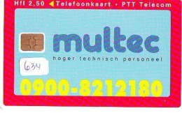NEDERLAND CHIP TELEFOONKAART CRD 634 * MULTEC  * Telecarte A PUCE PAYS-BAS ONGEBRUIKT MINT - Nederland