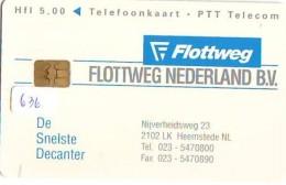 NEDERLAND CHIP TELEFOONKAART CRD 636 * FLOTTWEG  * Telecarte A PUCE PAYS-BAS ONGEBRUIKT MINT - Nederland