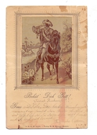 MATERIAL - AK, Seide / Silk / Soie, Krieger-Krefeld, 1899, MÄNGEL / WAF - Ansichtskarten