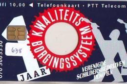 NEDERLAND CHIP TELEFOONKAART CRD 638 * BORGINGSSYSTEEM  * Telecarte A PUCE PAYS-BAS ONGEBRUIKT MINT - Nederland