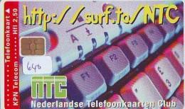 NEDERLAND CHIP TELEFOONKAART CRD 640 * NTC  * Telecarte A PUCE PAYS-BAS ONGEBRUIKT MINT - Privé