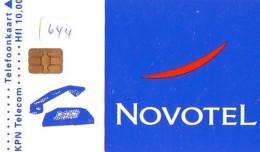 NEDERLAND CHIP TELEFOONKAART CRD 644 * NOVOTEL  * Telecarte A PUCE PAYS-BAS ONGEBRUIKT MINT - Privé