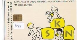 NEDERLAND CHIP TELEFOONKAART CRD 648 * SKN  * Telecarte A PUCE PAYS-BAS ONGEBRUIKT MINT - Nederland