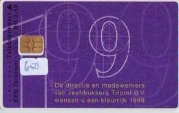 NEDERLAND CHIP TELEFOONKAART CRD 650 * TRIUMPH * Telecarte A PUCE PAYS-BAS ONGEBRUIKT MINT - Nederland
