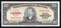 CUBA  1949   20 PESOS. ANTONIO MACEO . NUEVO SIN CIRCULAR  .B1220 - Cuba