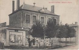 CPA Aulnay-L'Aitre - L'école Et La Mairie (avec Belle Animation) - France