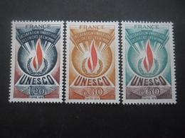 FRANCE Timbre De Service Série N°43 Au 45 Neuf ** - Neufs